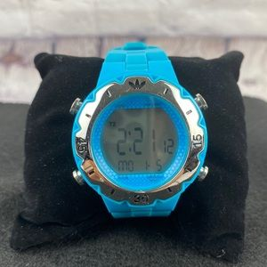 Adidas blue sport watch